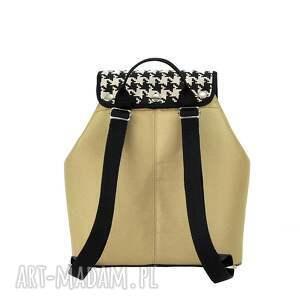 plecak plecaki białe damski puro 738