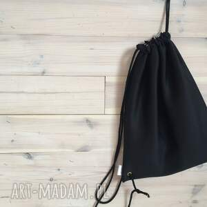 miejski plecak czarna pianka