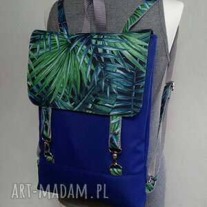 niebieskie plecak na laptopa