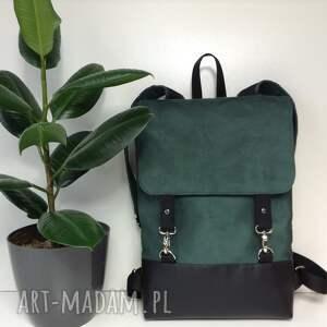 ręcznie wykonane plecak uszyty z mocnych materiałów dobranych