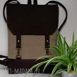 ręcznie zrobione plecaki plecak na laptopa
