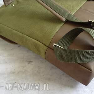 plecak zielone na laptopa
