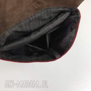 handmade plecaki miejski-plecak plecak na laptopa