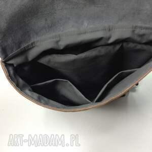 plecak plecaki brązowe na laptopa.