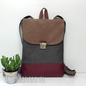 hand-made plecaki plecak na laptopa.