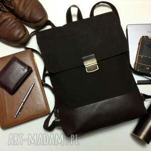 hand-made plecaki plecak na laptopa unisex