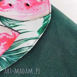 plecak plecaki różowe teczka butelkowa zieleń