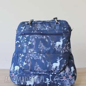 szare torba plecak listonoszka - jelenie