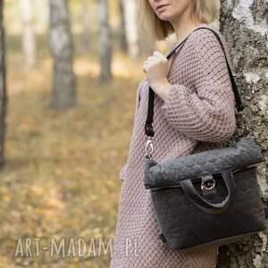 plecak2w1 plecak / torba 2 w 1 szary pikowany