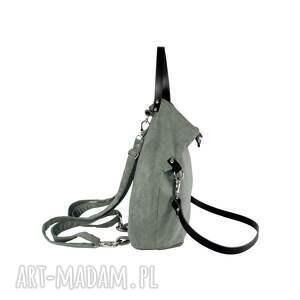 torba plecak 2 in1 ruby jasno szary