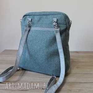 efektowne plecaki plecak torba listonoszka - tkanina