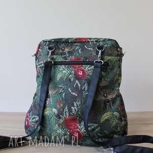 prezent święta elegancka plecak torba listonoszka - pszczoły