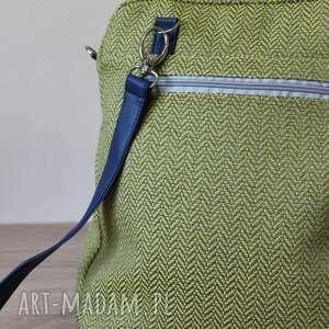 niepowtarzalne plecaki elegancka plecak torba listonoszka - tkanina