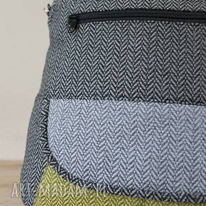 awangardowe elegancka plecak torba listonoszka - tkanina