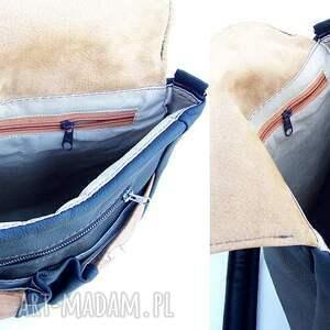 czarne plecaki torba plecak / czarno -brązowa