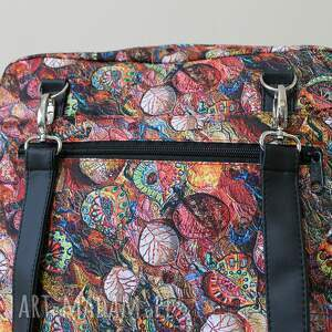 pomysł na prezenty święta czerwone plecak torba listonoszka - jesienny
