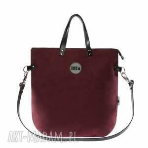plecaki pojemny plecak torba 2 in1 bakłażan