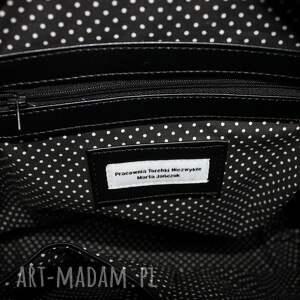 pomysły na prezenty na święta elegancka plecak torba listonoszka - piwonie