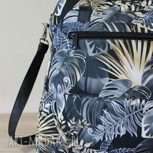 pomysł na święta prezent czarne plecak torba listonoszka - monstery