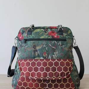prezent święta nowoczesna plecak torba listonoszka - pszczoły