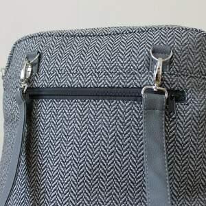 elegancka plecak torba listonoszka - tkanina