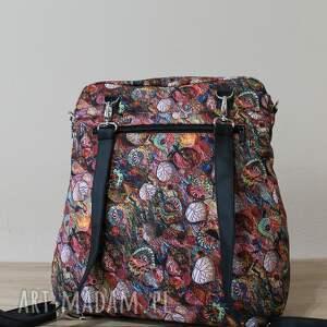 pomysł na prezenty święta pakowna plecak torba listonoszka - jesienny