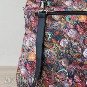 pomysł na prezenty święta prezent plecak torba listonoszka - jesienny