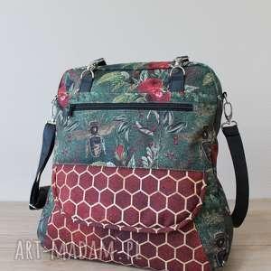 prezent święta jesień plecak torba listonoszka - pszczoły