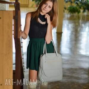 hand made autumn plecak torba listonoszka - miętowy