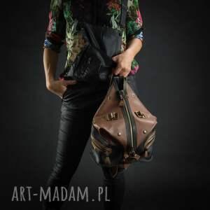 Ladybuq Art Studio plecak torba skórzana torebka podróżna ręcznie robiony art oryginalny