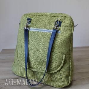 niepowtarzalne plecaki trening plecak torba listonoszka - tkanina