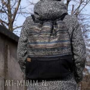 intrygujące plecak vegan troczek navaho