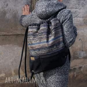 kieszeń plecak vegan troczek navaho