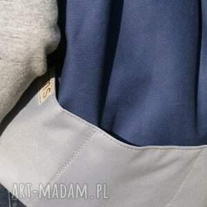 niebieskie plecaki torba plecak vege troczek granat szary