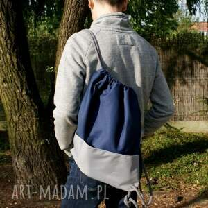 plecaki lato plecak vege troczek granat szary