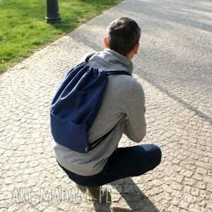 worek plecak vege troczek granat