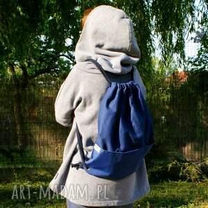 niepowtarzalne plecaki worek plecak vege troczek granat