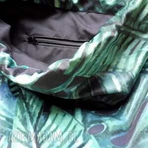 Plecak worek Tropic - welurowy