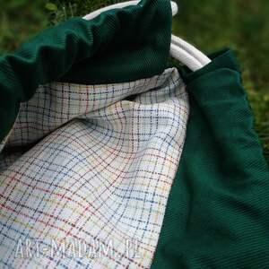 niepowtarzalne plecak worek lis