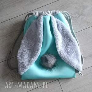 handmade plecak worek króliczek
