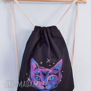 plecaki plecak worek kosmiczny kot