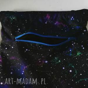 czarne plecaki worek plecak kosmiczny