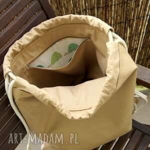 motyw florystyczny plecak / worek