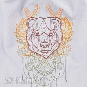 brązowe plecaki niedźwiedź plecak worek z niedźwiedźiem