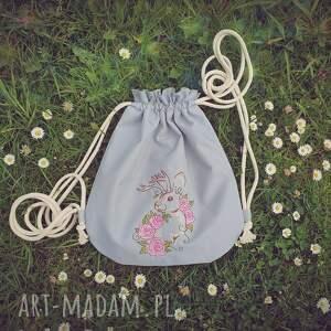 plecakpastelowy zielone plecak worek mini pastelowy