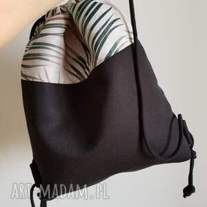 ręcznie robione palmy plecak worek - summer vibes