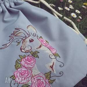 handmade plecakpastelowy plecak worek mini pastelowy