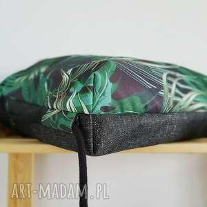 hand made tropikalny plecak worek - tropikalne