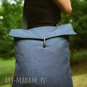 plecaki plecak plecako-torba niebieska