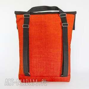 frapujące plecaki torba plrcako-torba pomarańcz z ciemnym